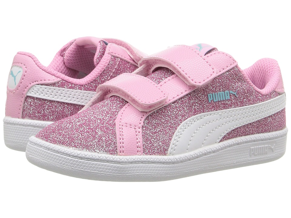 Puma Kids - Smash Glitz Glamm V INF (Toddler) (Beetroot Purple/Puma White) Girls Shoes