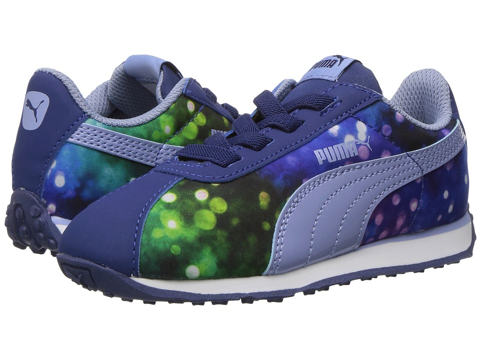 Puma Kids - Turin Lights AC INF (Toddler) (Twilight Blue/Lavendar Lustre) Girls Shoes