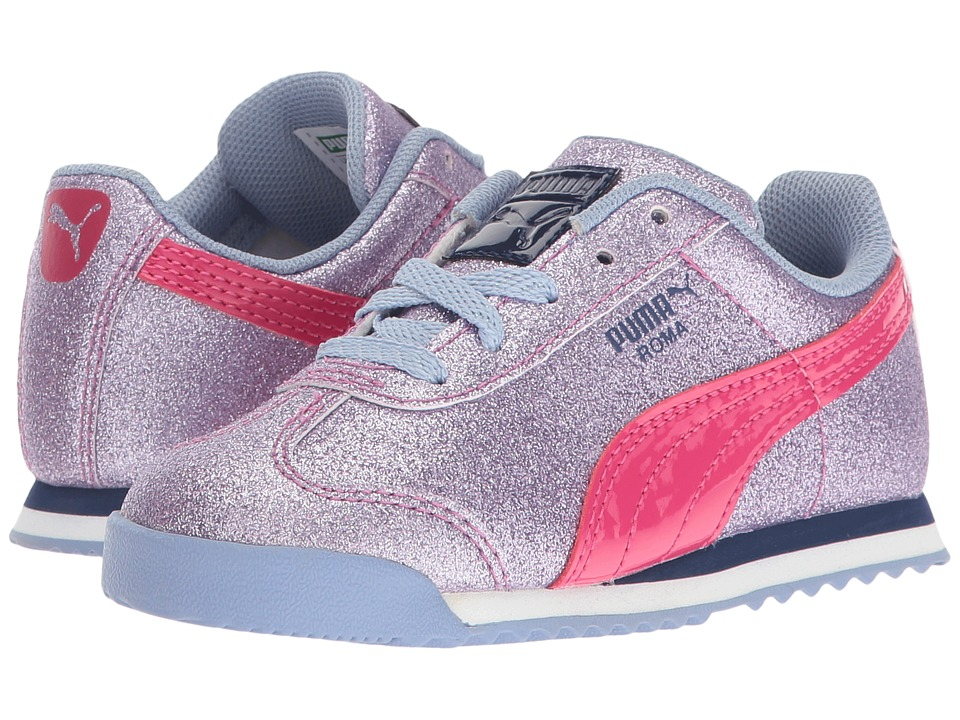 Puma Kids - Roma Glitz Glamm INF (Toddler) (Lavendar Lustre/Beetroot Purple) Girls Shoes
