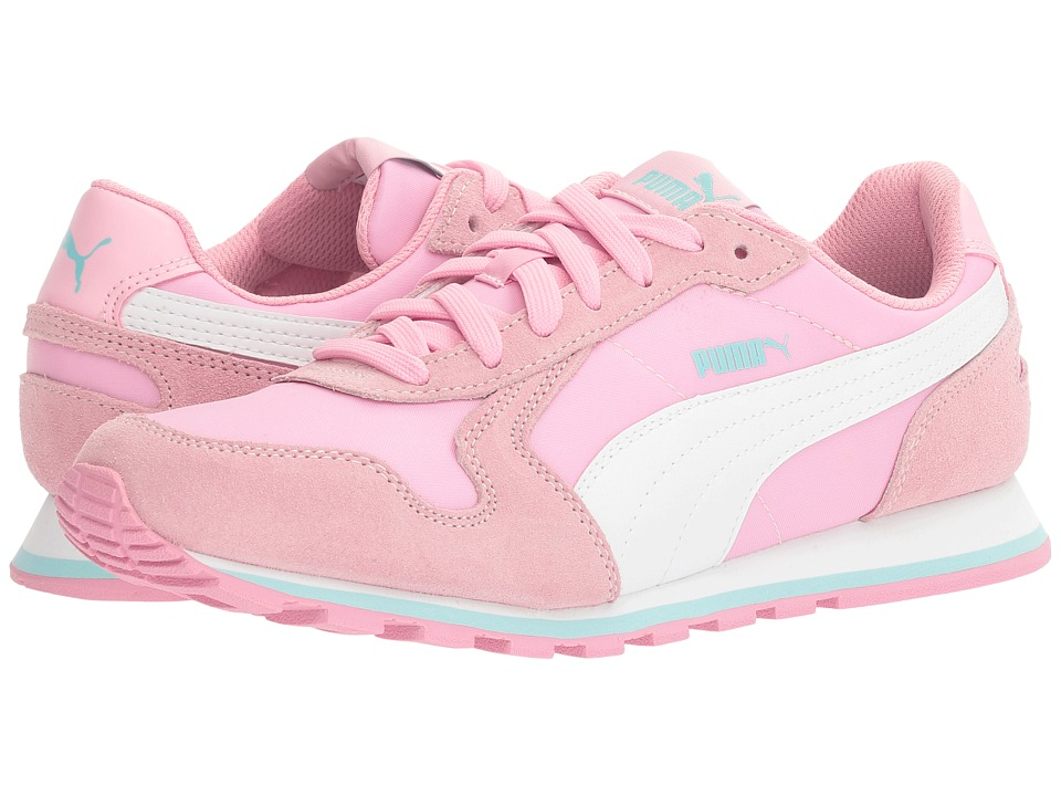 Puma Kids - ST Runner NL Jr (Big Kid) (Prism Pink/Puma White) Girls Shoes