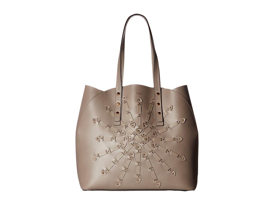 Furla - Aurora Medium Tote (Sabbia) Tote Handbags