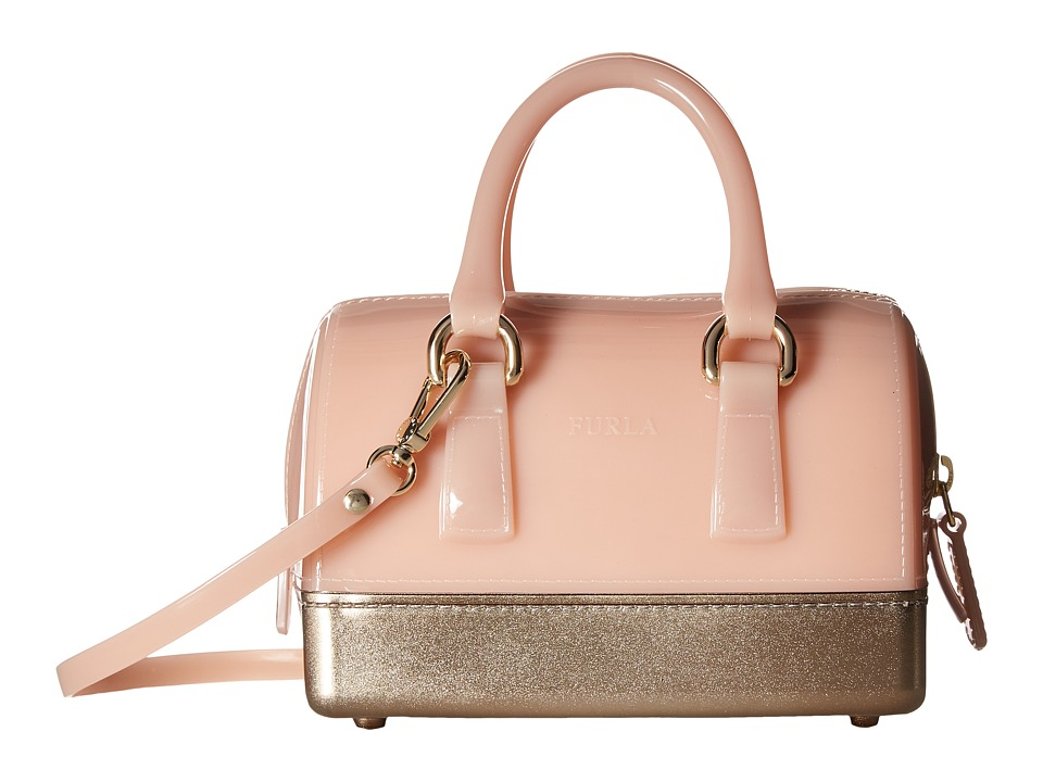 Furla - Candy Bling Sweetie Mini Satchel (Moonstone) Satchel Handbags
