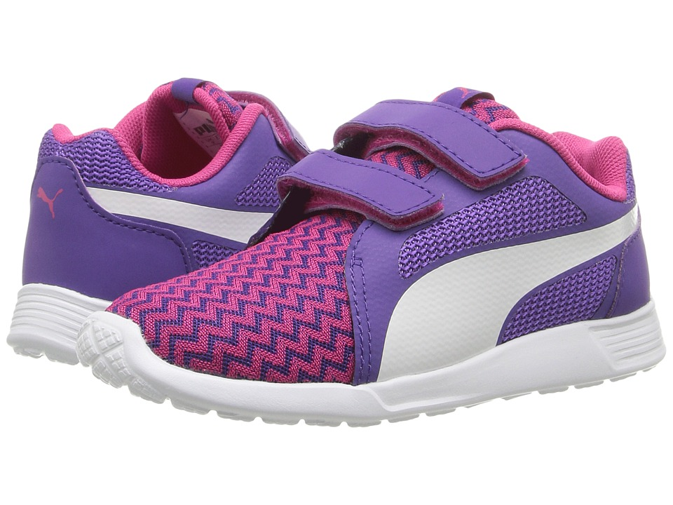 Puma Kids - St Trainer Evo Techtribe V INF (Toddler) (Sparkling Cosmo/Puma White) Girls Shoes