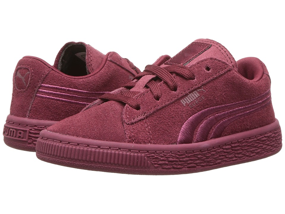 Puma Kids - Suede Classic Badge INF (Toddler) (Cabaret) Girls Shoes