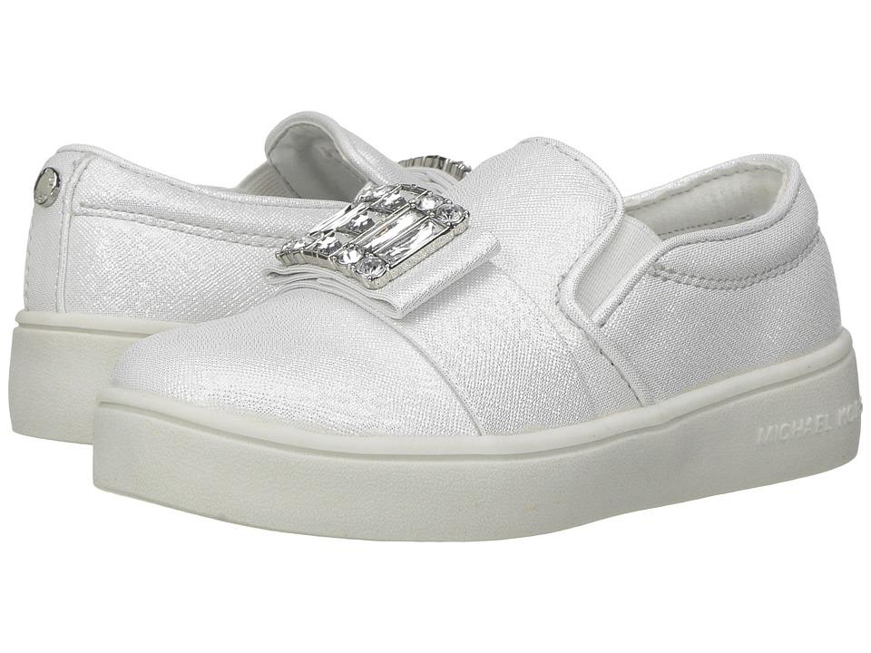 MICHAEL Michael Kors Kids - Ivy Cara (Toddler) (White Saffiano) Girl's Shoes