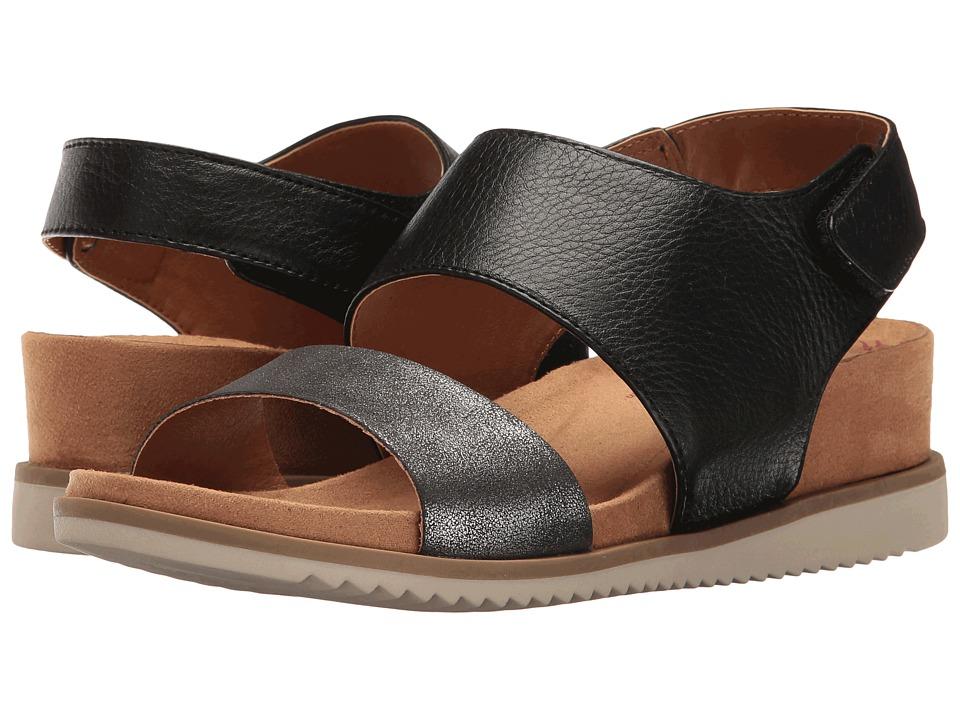 Comfortiva - Leslie (Black/Anthracite Odyssey/Metallic) Women's Wedge Shoes