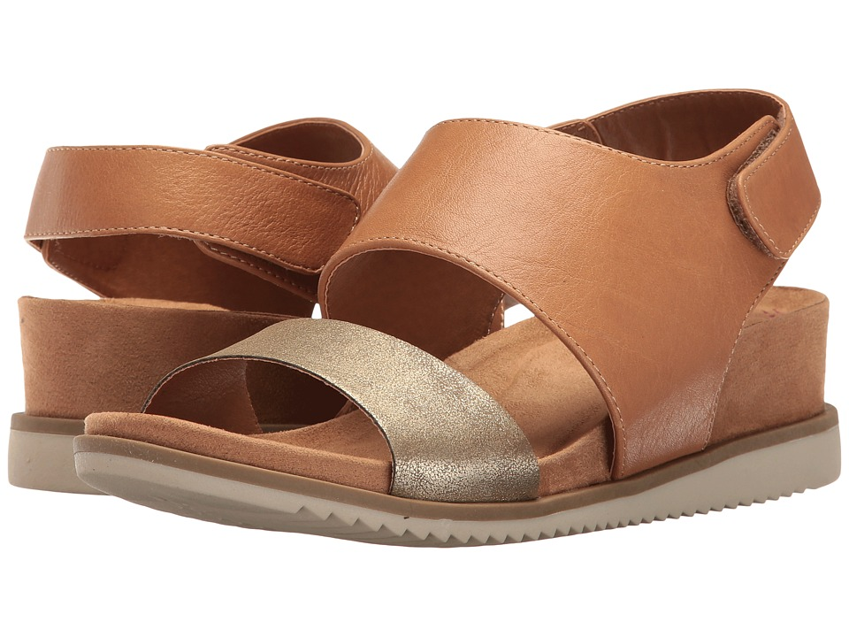 Comfortiva - Leslie (Sand/Gold Odyssey/Metallic) Women's Wedge Shoes