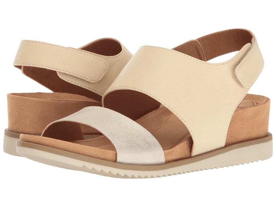 Comfortiva - Leslie (Beige/Light Gold Odyssey/Metallic) Women's Wedge Shoes