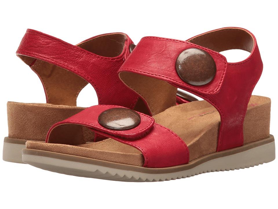 Comfortiva - Pamela II (Cupid Red Oyster) Women's Wedge Shoes