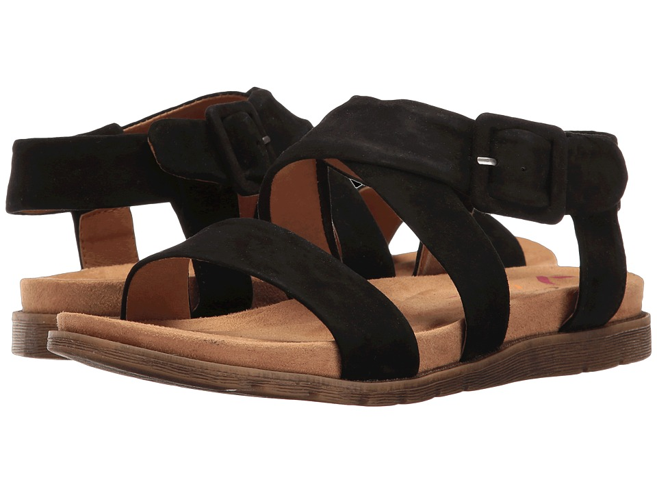 Comfortiva - Andria (Black King Suede) Women's Sandals