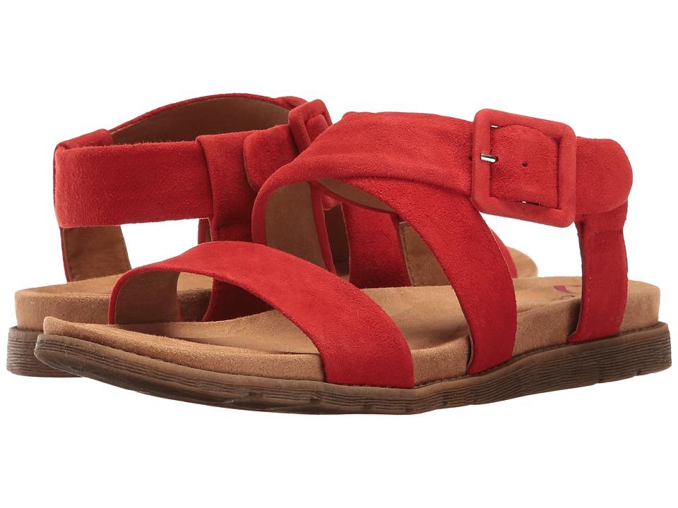 Comfortiva - Andria (Lipstick Red King Suede) Women's Sandals