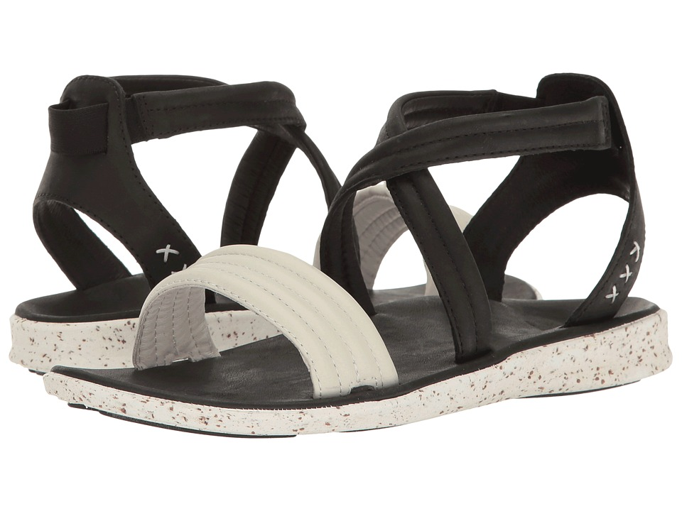 Superfeet - Verde (Black/White) Women's Sandals