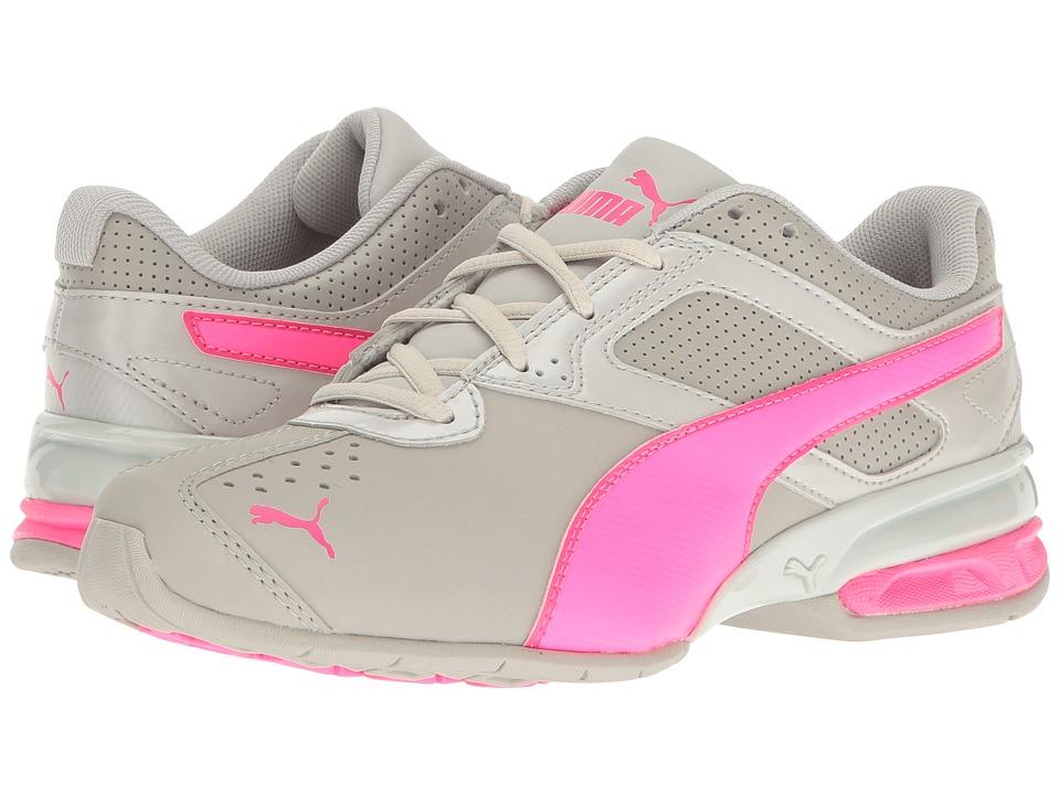 Puma Kids - Tazon 6 SL Jr (Big Kid) (Gray Violet/Knockout Pink) Girls Shoes