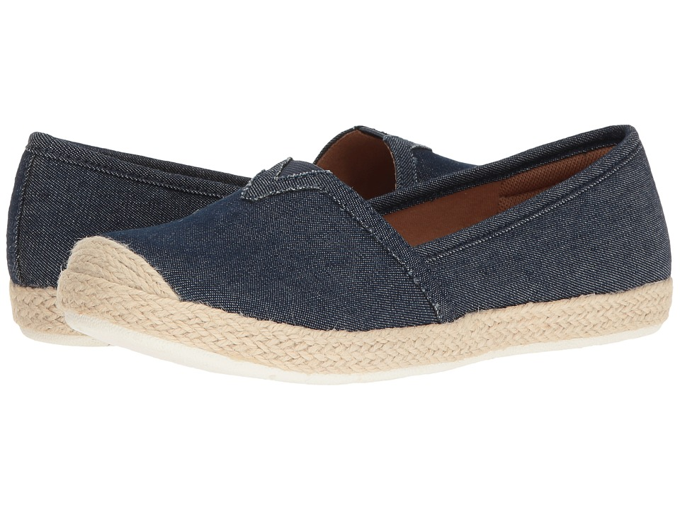 Comfortiva - Sheridan (Navy Denim) Women's Slip on Shoes