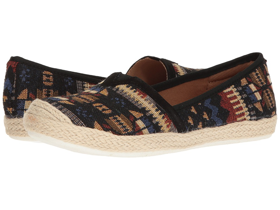 Comfortiva - Sheridan (Black Aztec) Women's Slip on Shoes