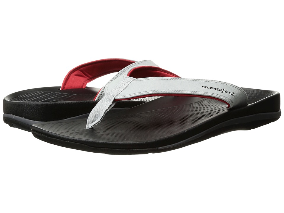 Superfeet - Outside 2 Sandal (High-Rise/Fiery Red) Men's Sandals