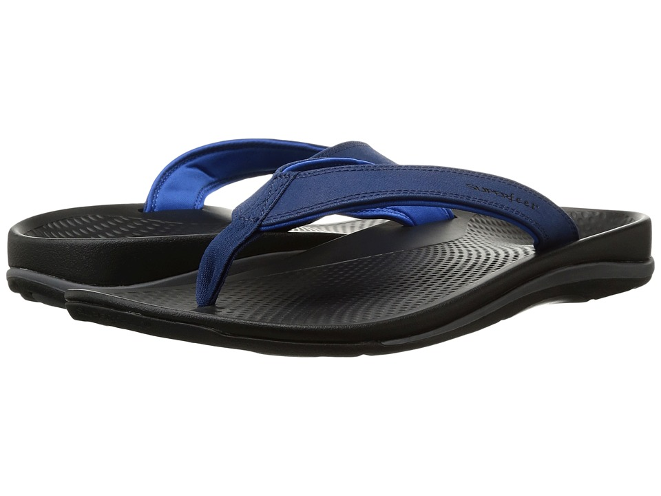 Superfeet - Outside Sandal (Estate Blue/Imperial Blue) Men's Sandals