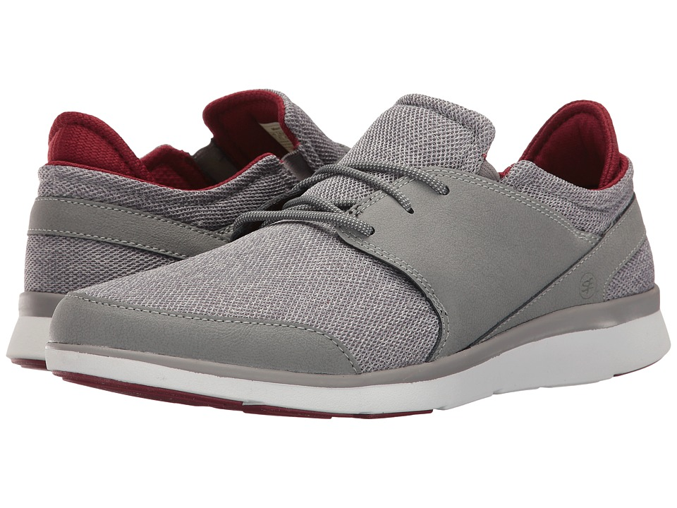 Superfeet - Shaw (Frost Gray/Biking Red) Men's Lace up casual Shoes