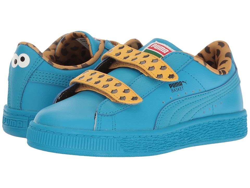 Puma Kids - Basket Cookie Monster Mono V PS (Little Kid/Big Kid) (Blue Danube/Blue Danube) Kids Shoes