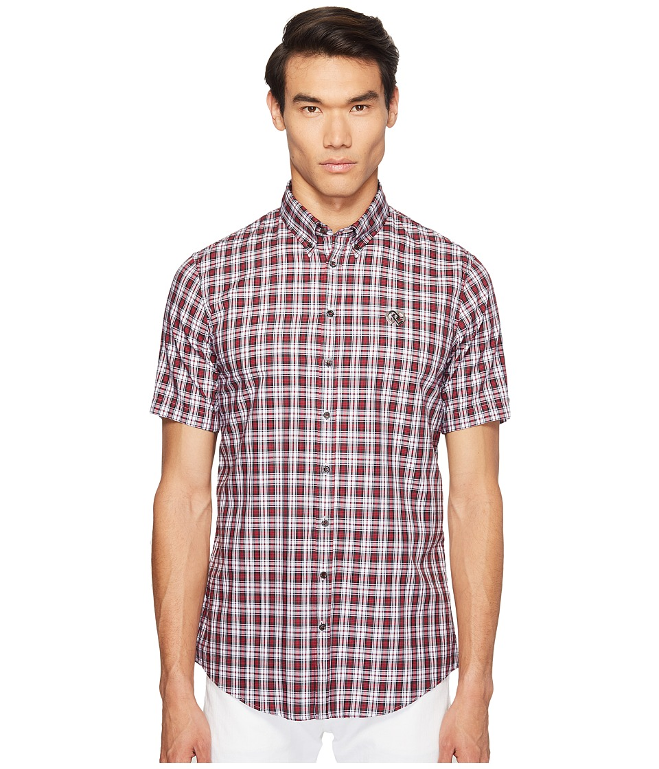 DSQUARED2 - Street Ska Check Shirt (Red/Green/White) Men's Clothing
