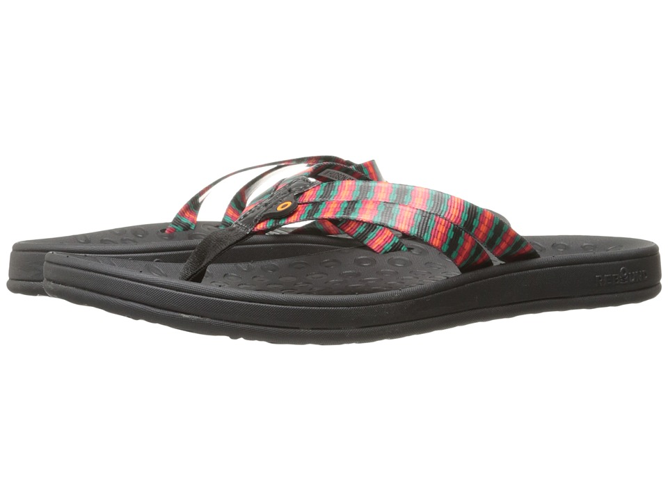 Bogs - Hudson Webbing Stripes (Black Multi) Women's Sandals