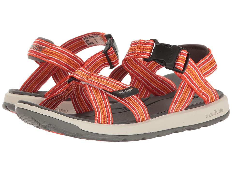 Bogs Rio Sandal Stripe (Orange Multi) Women