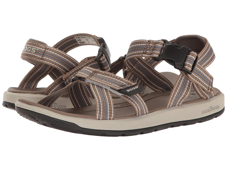 Bogs Rio Sandal Stripe (Brown Multi) Women
