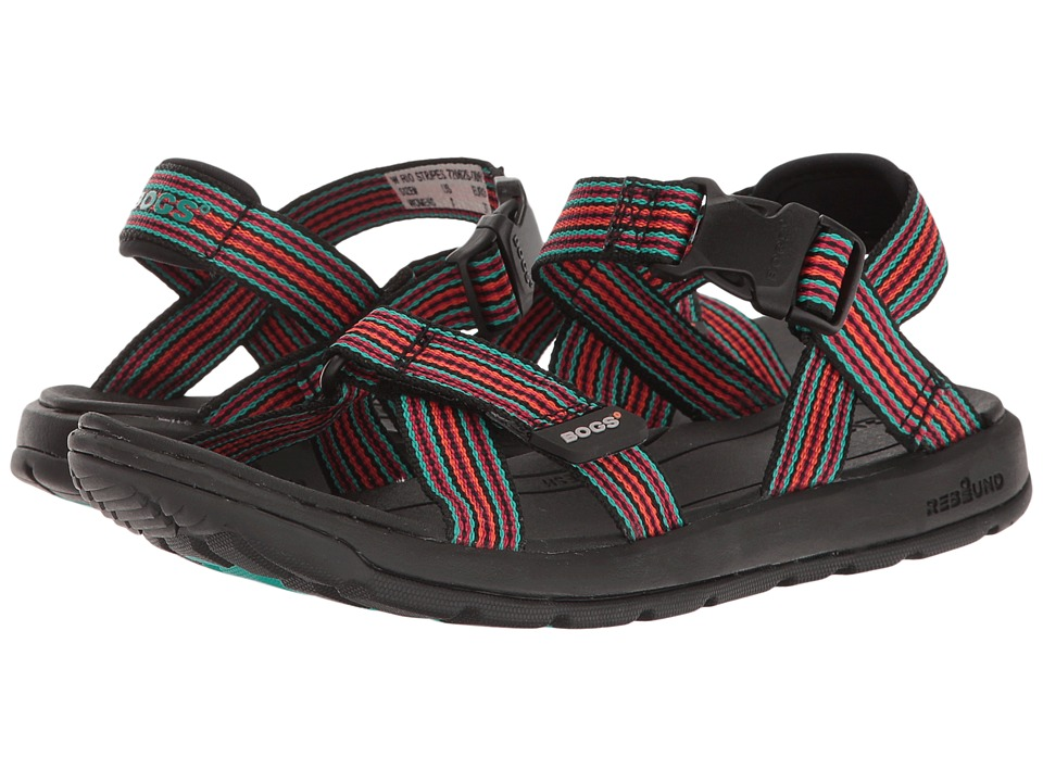 Bogs Rio Sandal Stripe (Black Multi) Women