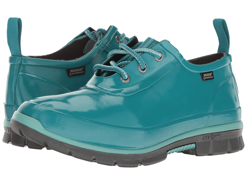 Bogs Amanda 3-Eye Shoe (Emerald) Women
