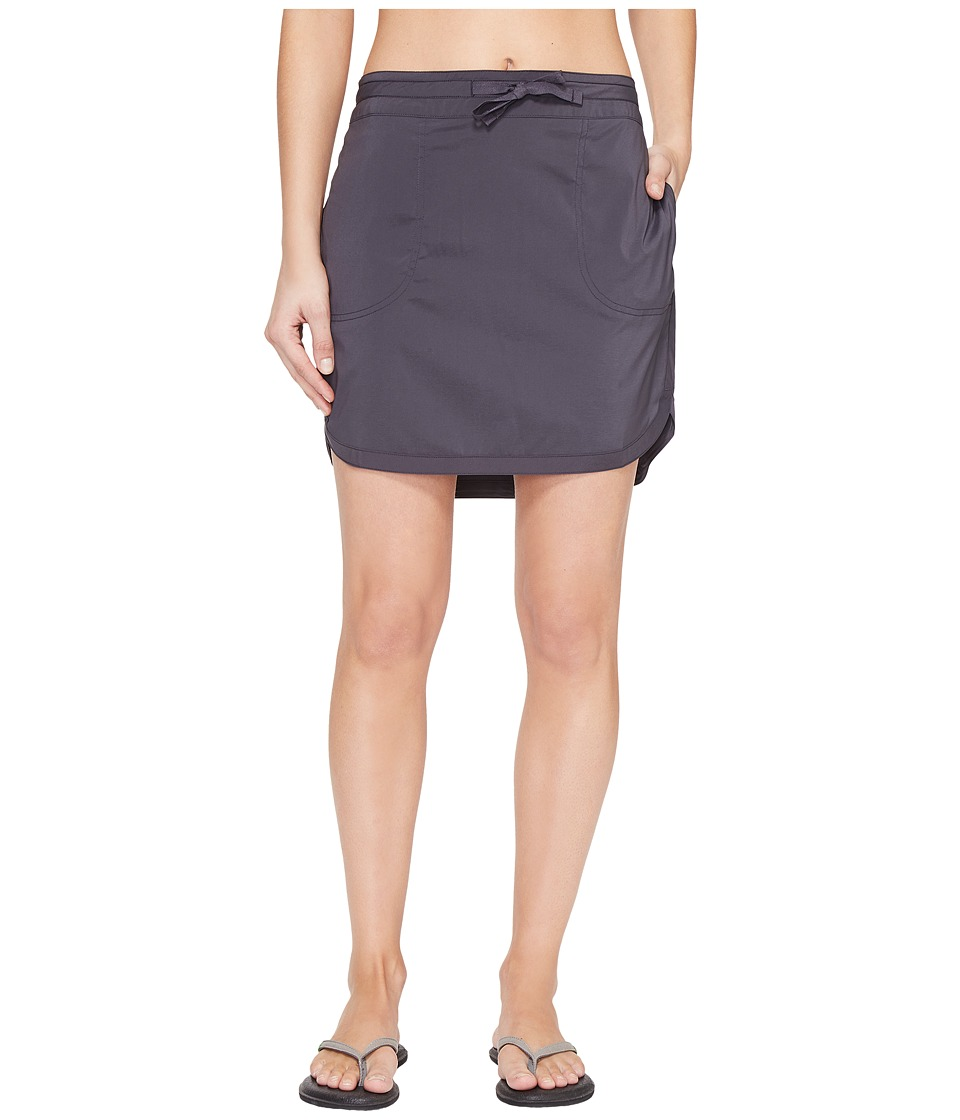ExOfficio - Sol Cool Skirt (Carbon) Women's Skirt