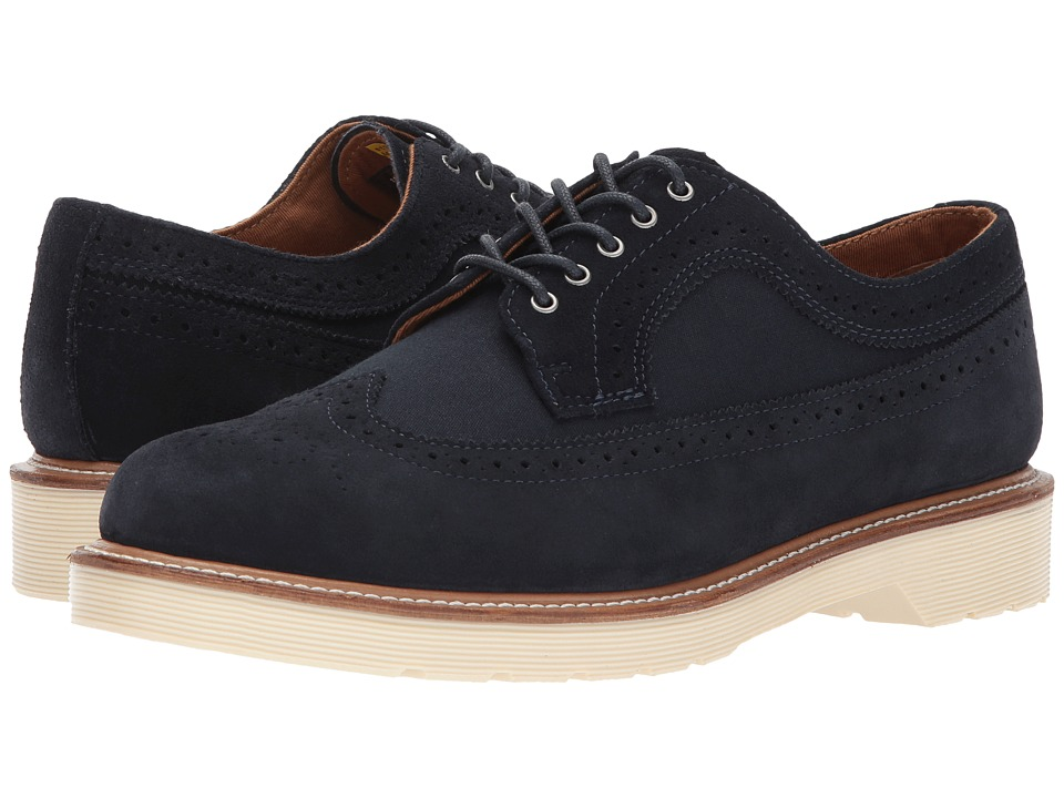Dr. Martens 3989 (Dress Blues Hi Suede WP/Canvas) Men