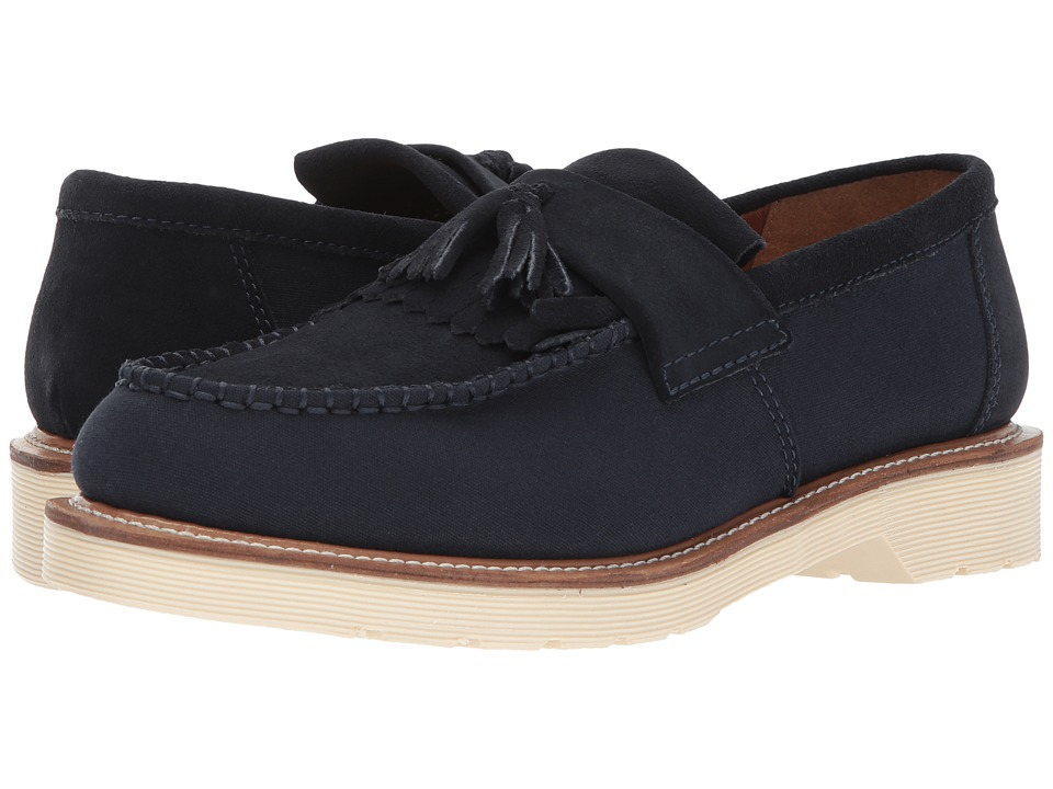 Dr. Martens Adrian (Dress Blues Hi Suede WP/Canvas) Men