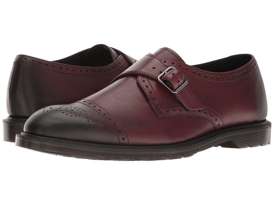 Dr. Martens - Cobden (Cherry Red Antique Temperley) Men's Boots