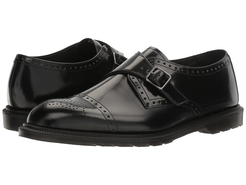 Dr. Martens Cobden (Black Polished Smooth) Men