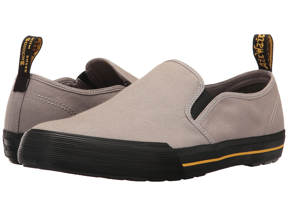 Dr. Martens - Toomey (Mid Grey Canvas) Men's Boots