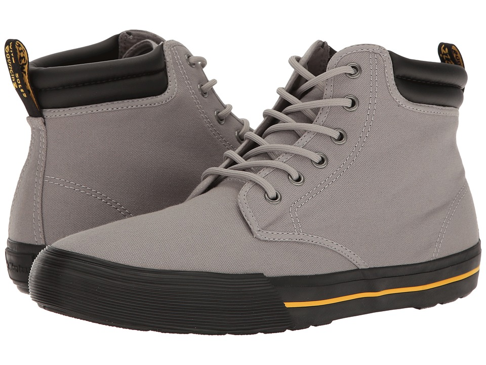 Dr. Martens Eason (Mid Grey Canvas) Men