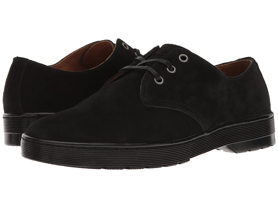 Dr. Martens - Coronado (Black Hi Suede WP) Men's Shoes