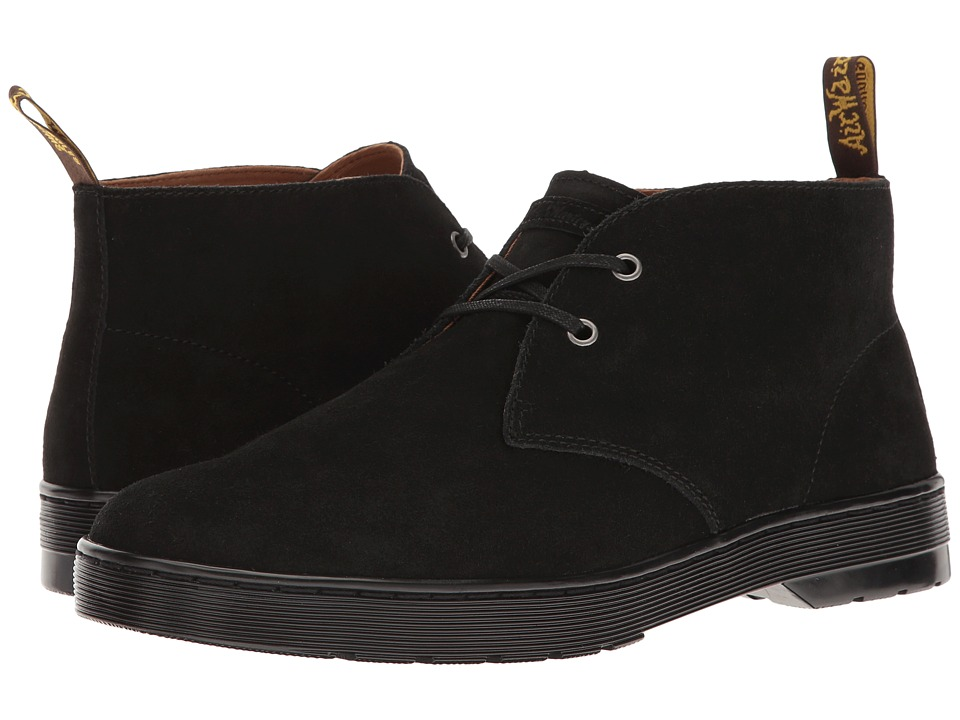 Dr. Martens - Cabrillo (Black Hi Suede WP) Men's Shoes