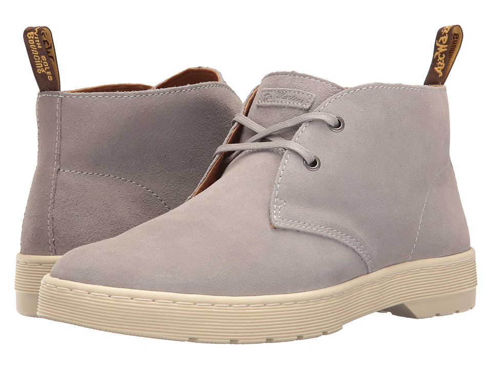 Dr. Martens - Cabrillo (Mid Grey Hi Suede WP) Men's Shoes