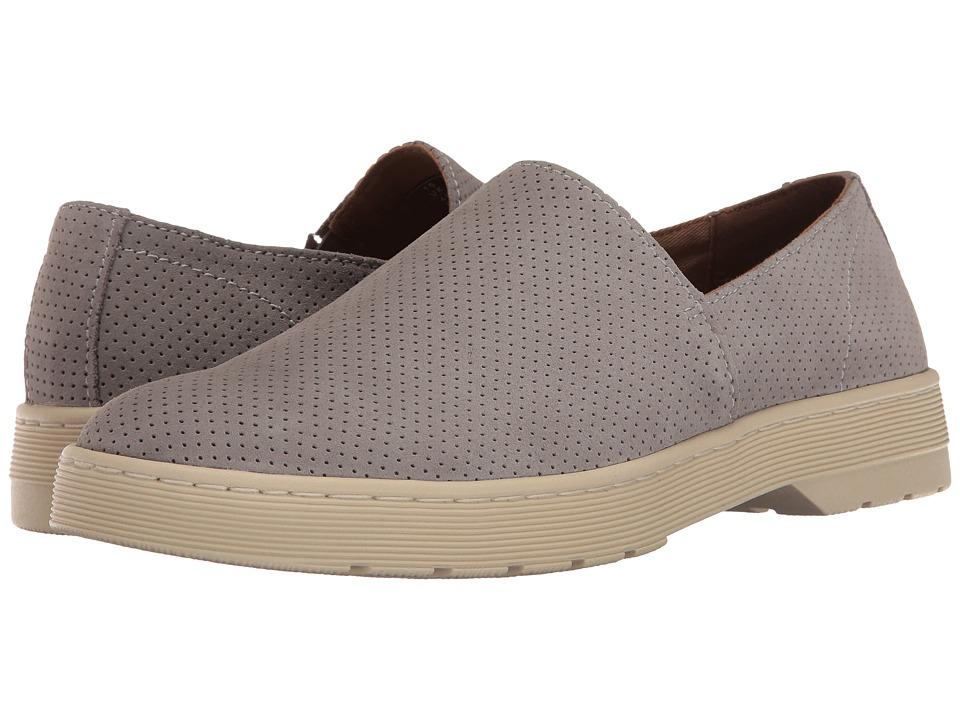 Dr. Martens - Plano (Mid Grey Hi Suede WP Perfed) Men's Boots