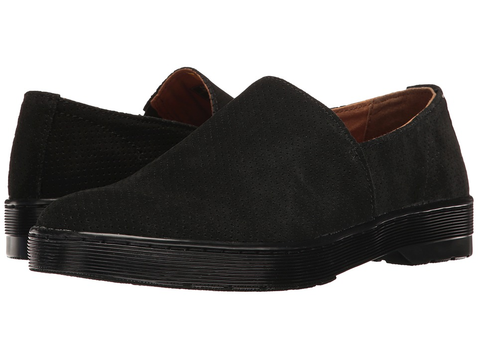 Dr. Martens - Plano (Black Hi Suede WP Perfed) Men's Boots