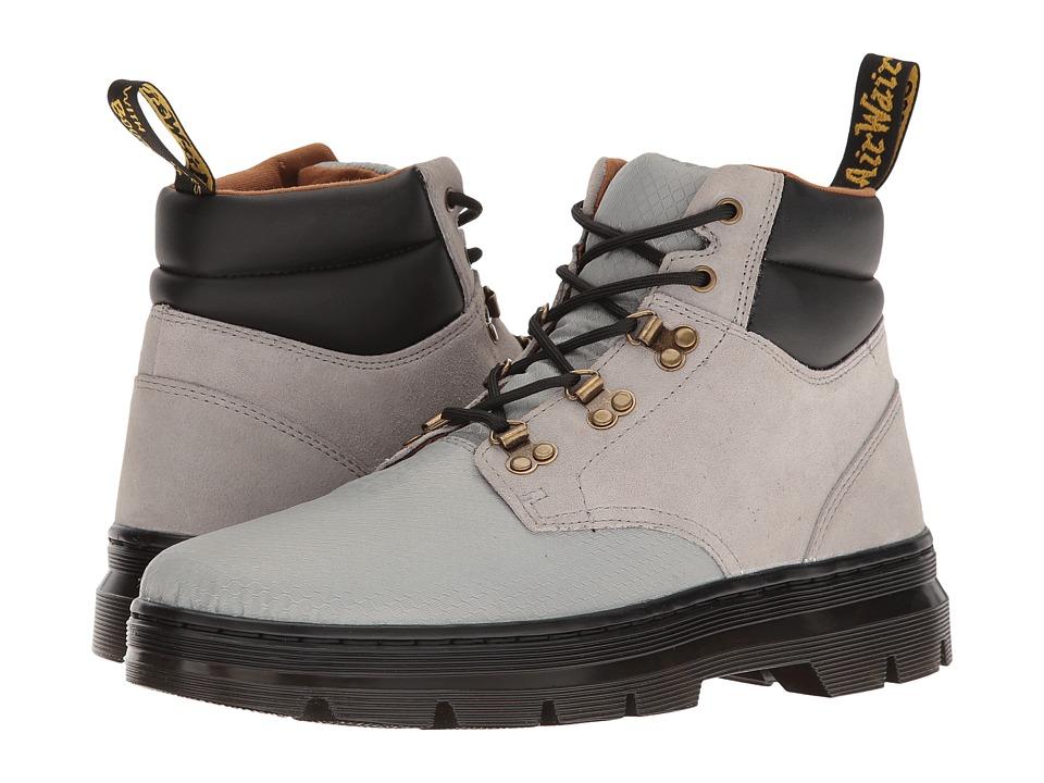 Dr. Martens - Rakim (Mid Grey Rhombus Nylon Mesh/Hi Suede WP) Boots
