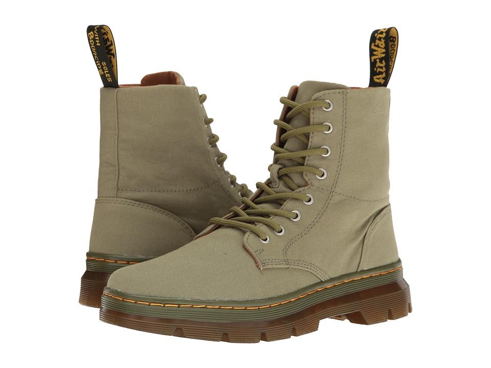 Dr. Martens - Combs (Mid Khaki Canvas) Boots