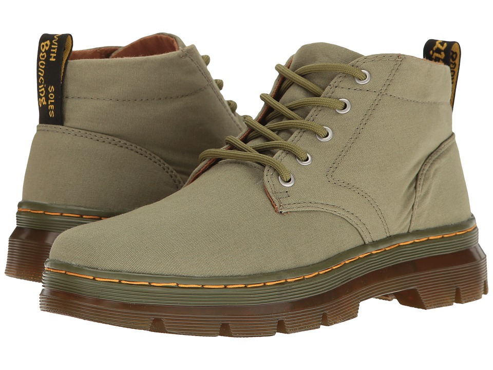 Dr. Martens Bonny (Mid Khaki Canvas) Boots