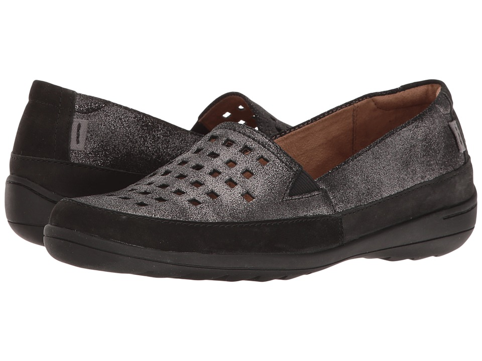 Rockport Cobb Hill Collection Cobb Hill Leland Perf Aline (Dark Pewter) Women