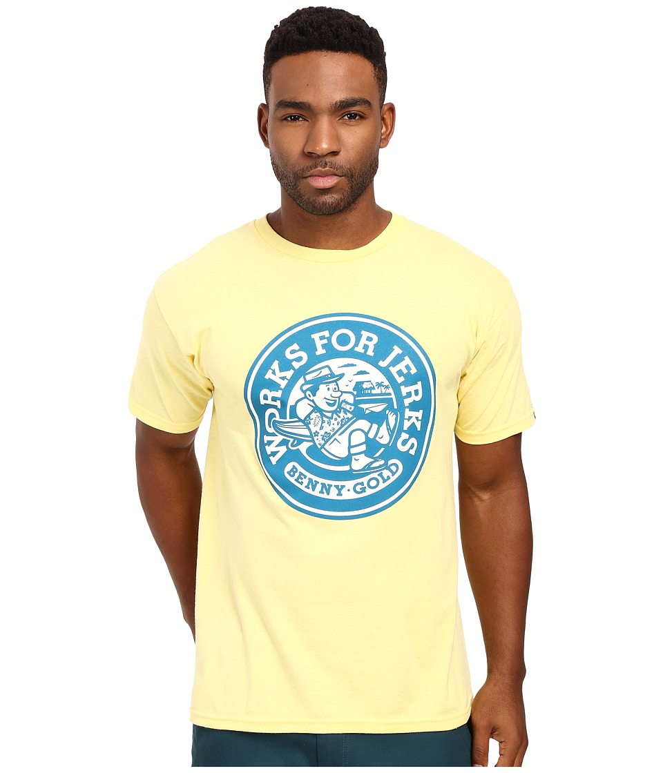 Benny Gold - Getaway Tee (Banana) Men's T Shirt