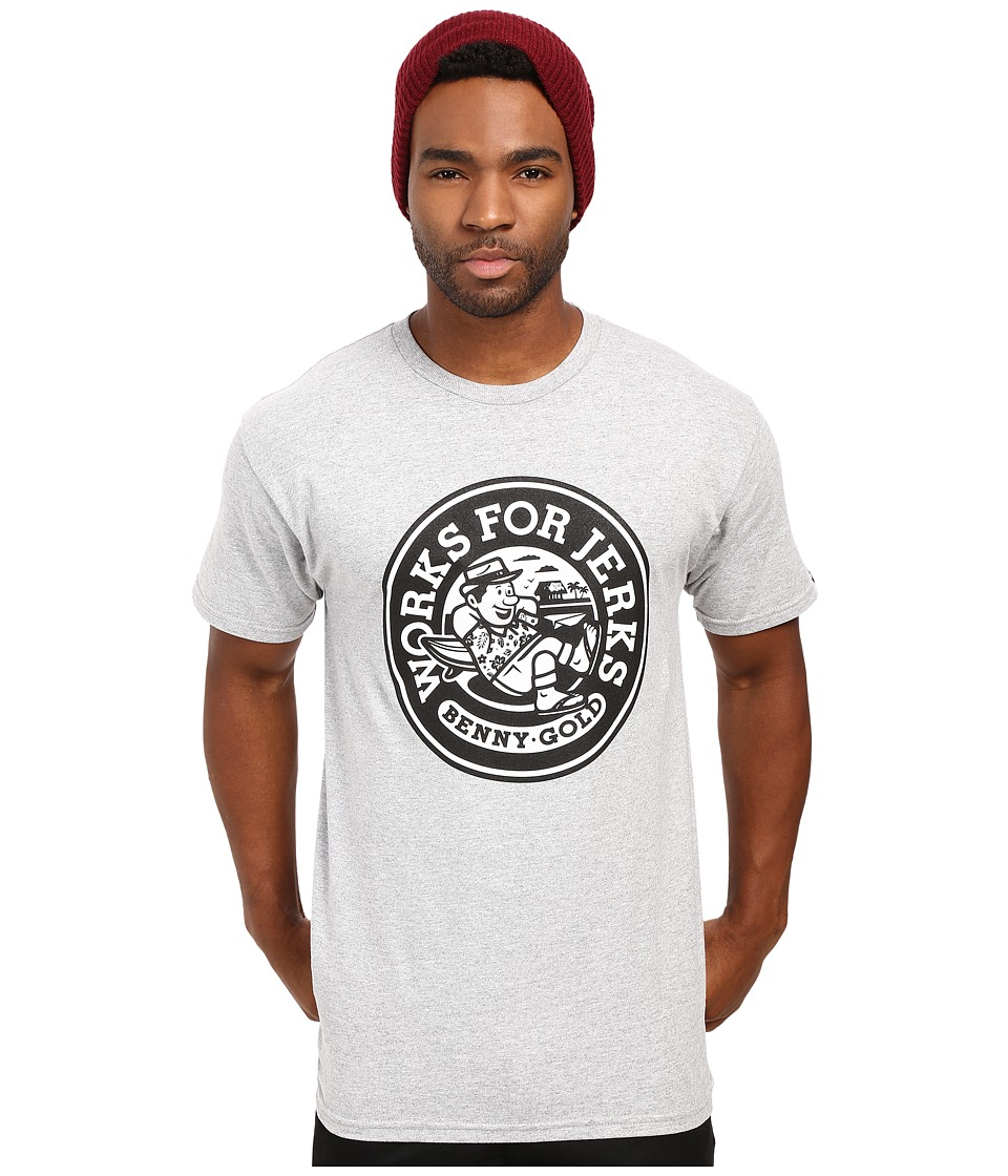 Benny Gold - Getaway Tee (Heather Grey) Men's T Shirt