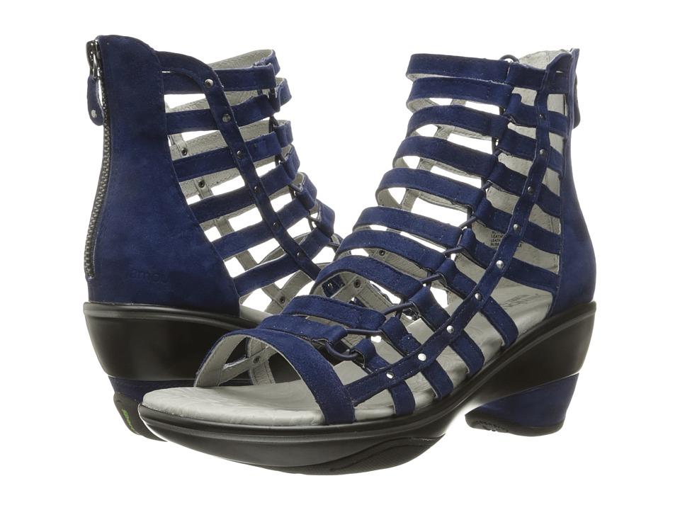Jambu - Brookline (Navy Solid) Women's Wedge Shoes