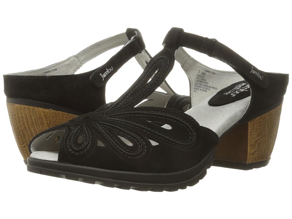 Jambu - Sahara (Black) Women's Wedge Shoes