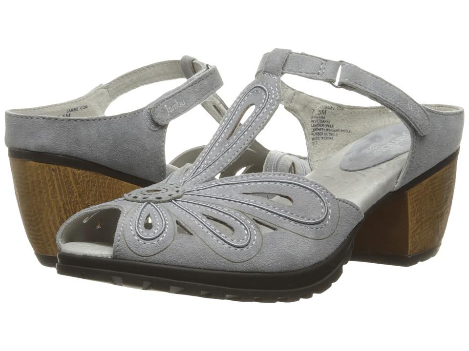 Jambu - Sahara (Grey) Women's Wedge Shoes